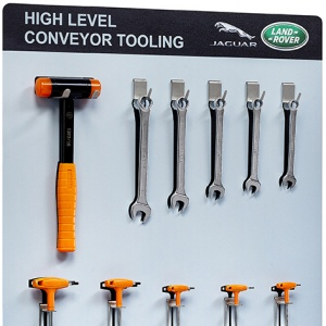 Jaguar Land Rover Tool Station - with tools
