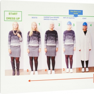 Visual Management - Dress down/up board