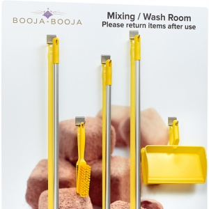 Booja Booja Wash Room Cleaning Station - with tools