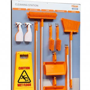 Mazak Cleaning Station - with utensils