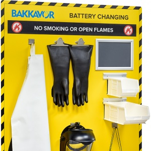 Bakkavor Battery Changing Station - with PPE
