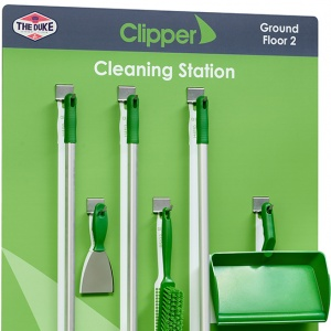 Clipper Logistics Cleaning Station - with equipment