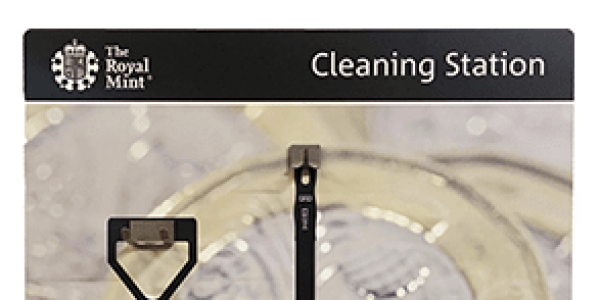 The Royal Mint - Cleaning Station